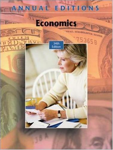 Annual Editions: Economics