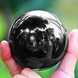Neewer-80mm-Boule-Globe-de-Cristal-Noir-avec-Support-en-Cristal-pour-Feng-Shui-Divination-ou-Dcoration-de-Mariage-Maison-Bueau