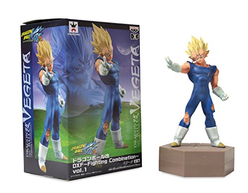 "Banpresto DBZ Dragon Ball Kai DXF Fighting Combination Vol. 1 5.5"" Vegeta Figure 4"