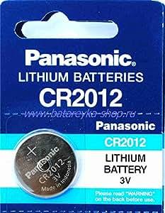 Pile Lithium PANASONIC CR2012 Ed 12-2019