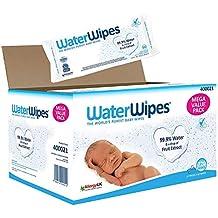 WaterWipes Baby Feuchttücher Empfindliche Haut, 99,9% gereinigtes Wasser, 12 x 60 Feuchttücher (720 Feuchttücher)