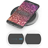 NILLKIN® Station de Charge Rapide INDUCTION | Chargeur de Telephone Universelle | Docking Station pour Qi Smartphone | Magic Disk Noir | Apple iPhone Huawei Samsung Galaxy Xperia
