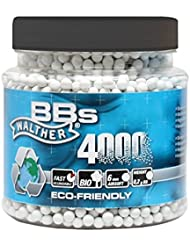 4000 bolas bola de airsoft biodegradables para 6 mm 0:20 gramos Umarex Walther
