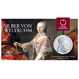 Maria Theresia Silber Taler Österreich im Blister