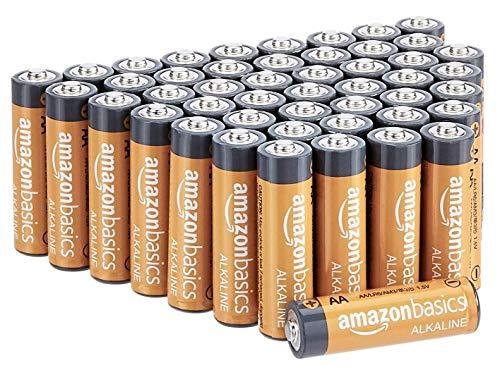 Oferta de Amazon Basics - Pilas alcalinas AA de 1,5 voltios, gama Performance, paquete de 48 (el aspecto puede variar)