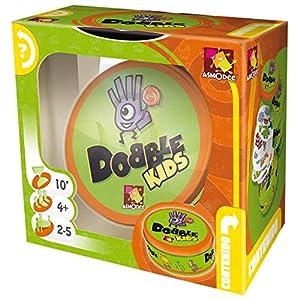 juegos infantiles: Dobble Kids - Juego de tablero (Asmodee DOKI01ES)