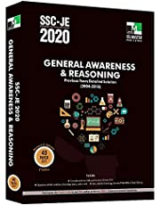 SSC-JE 2020 General Awareness and Reasoning Previous Years Detailed Solution