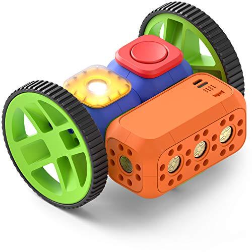 ter Baukasten - Baue und Programmiere Roboter - Mint Spielzeug für 5-10-jährige Kinder - Kompatibel mit Lego - 2 gratis Apps mit Programmierideen und Tutorials ()