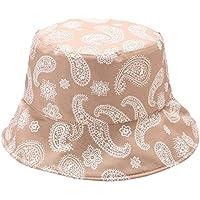 Rinder Sombrero De Sol De Estilo Cubeta De Hombres Mujeres Plegable Pescador Sombrero De La Playa De Protección Solar Impresión, C