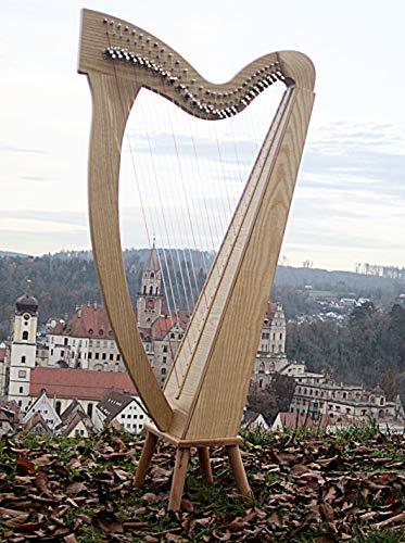 Harfe mit 29 Saiten incl Tasche A2-A6