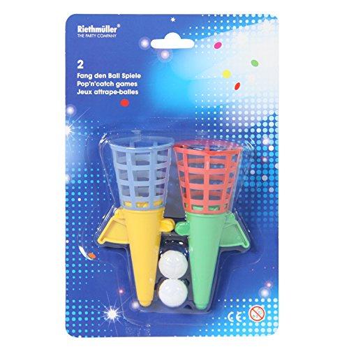 Tifany 8013407.0 Happy Birthday Fangballspiel mehrfarbig 2Stück