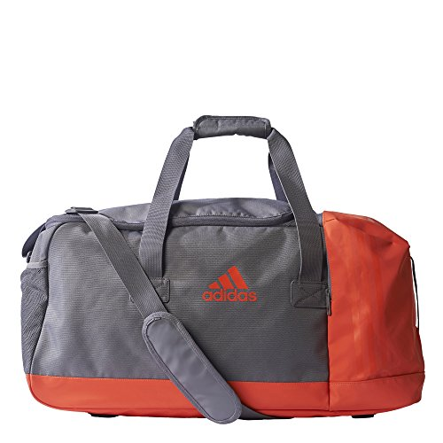 Adidas 3S PER TB Sporttasche, Unisex Erwachsene Trace Grey/Energy