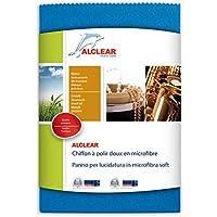 ALCLEAR 950026Z Microfibre Cloth Soft 40 x 40 cm, Blue - ukpricecomparsion.eu