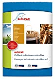 ALCLEAR 950026Z Poliertuch für Polieren Mikrofaser Soft, Größe: 40x 40cm, blau