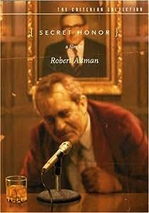 Criterion Collection: Secret Honor [DVD] [1984] [Region 1] [US Import] [NTSC]