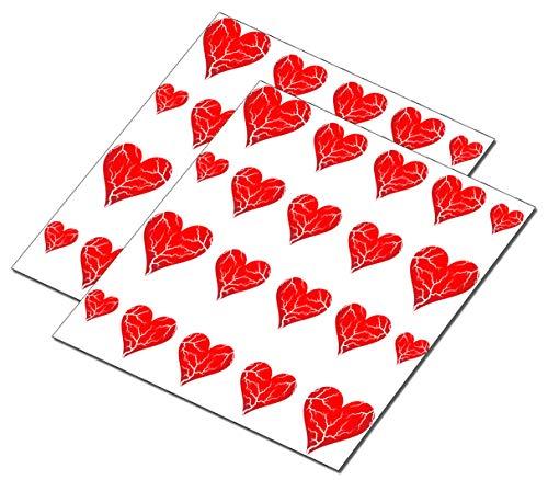 AWS set Water decals Cuori Cuore crepato spezzato stickers rosso unghie nail art Adesivi S.Valentino amore transfer decorazione Broken Heart red ricostruzione decorazione (40)