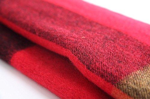 Warmpalm Echarpes, Echarpes pour hommes Echarpe en laine de laine pour homme, 30x180cm ( couleur : # 3 ) # 3