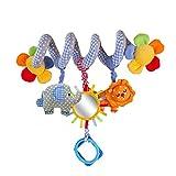 FYGOOD Baby Spirale Aktivität Plüschtiere Spielzeug, Babyschale, Kinderwagen und Reisen Spielzeug wie Bild Einheitsgröße