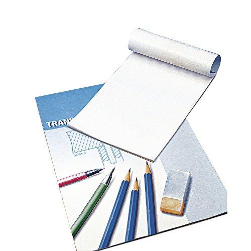Rayher Hobby 8147900 Transparentpapier, A3, Block 25 Blatt, 80 g/m2 (Karte Mit Laterne)