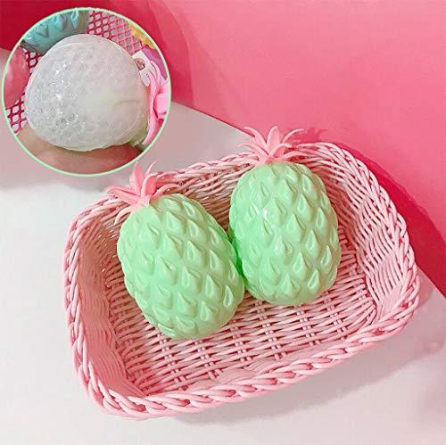 TianranRT Squishy Antistress Spielzeug/Kreativ-Grüne Ananas Squeeze Spaß Kinder Kawaii Stressabbau...