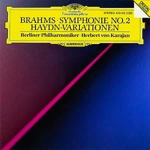 Brahms: Symphony No.2, Haydn Variations