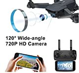 SUPER TOY 720P HD Camera Wi-Fi Foldable Drone with Altitude Hold, 360° Degree
