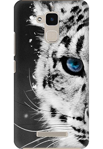 AMEZ designer printed 3d premium high quality back case cover for Asus Zenfone Pegasus 3 X008 (white tiger)  available at amazon for Rs.249