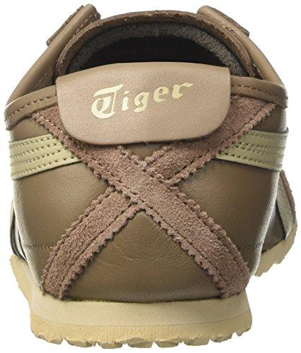 Onitsuka Tiger Mexico 66, Scarpe da Ginnastica Basse Uomo Multicolore (Taupe Grey/Latte)