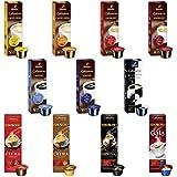 Tchibo Cafissimo Collection Sorten Mix 110 Kapseln, Kaffee Classics und Eduscho Kapseln - Probier Box