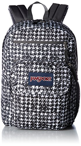 JanSport – Espray colorante y Digital Estudiante Mochila Negro Black Texture Tooth