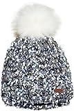 maximo Mädchen Mütze mit Pompon