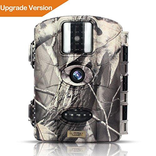 Wildkamera ARTITAN 16MP Nachtsicht Jagdkamera 1080P Full HD 20m Erfassungsbereich Weitwinkel Vision Infrarote Digital Fotofalle Jagd kamera 2,4''LCD Wasserdicht IP65