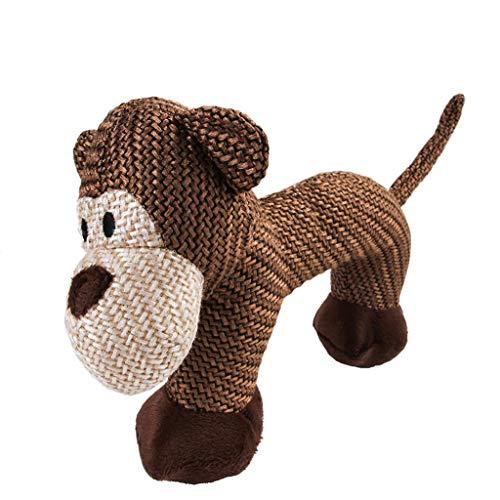 Barlingrock Pet Toy Haustier Hund Quietschendes Spielzeug Katze Squeaker Sound Chew Fetch Interaktives Plüschspielzeug Puppe Heimtextilien Gut für Hunde, Katzen, Pferde, Haustiere -