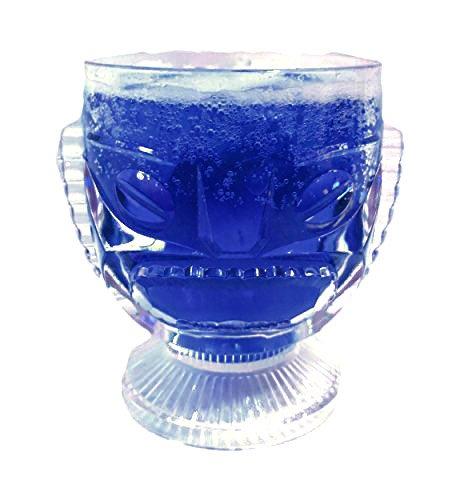 Plstico-Tiki-Cctel-Cristal-14oz-400ml-40cl-Cctel-Cristal-Novedad-Cctel-Cristal-Hawaiano-Cristal