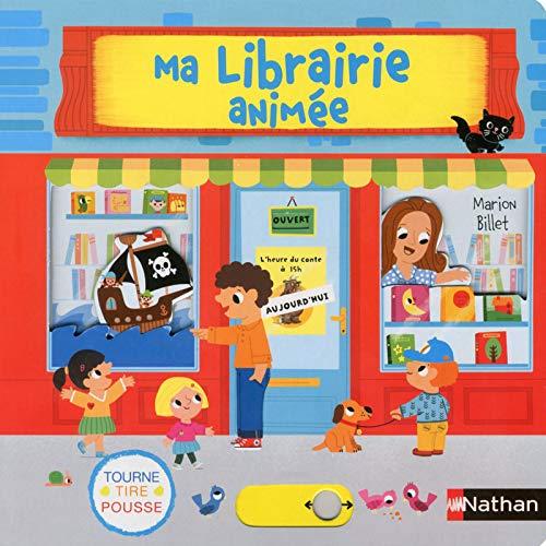 Ma librairie animée par