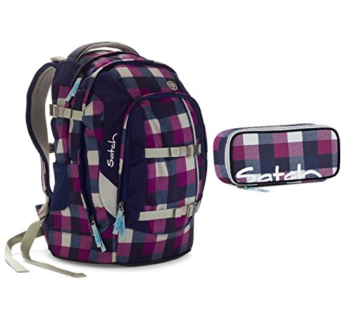 Satch Pack - Schulrucksack Set 2 tlg. - Berry Carry