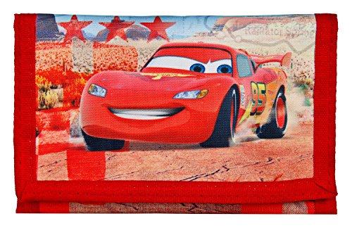 Undercover CAGR7010 Geldbörse, Disney Pixar Cars, ca. 8 x 13 x 5 cm