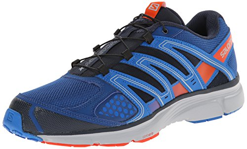 Salomon L37334000 X-Mission 2 Running Shoes, UK 9 (Gentiane/Union Blue/Red)