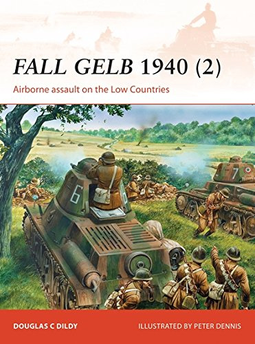 Fall Gelb 1940 (2): Airborne assault on the Low Countries (Campaign) por Doug Dildy