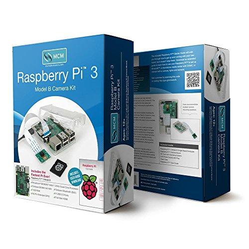 Raspberry Pi 3 Model B Camera Kit with Case