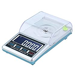 Alcoa Prime High Quality New LCD Digital Scale 0. 001g 50g Pocket Jewelry, Diamond Digital Weight Scale High Precision Measure