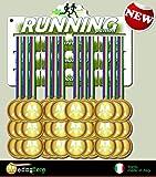 Medal display, medagliere da muro, dipslay medaglie resistente in alluminio colorato (fino a 40 medaglie)