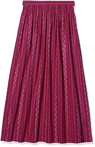 Stockerpoint Damen Dirndlschürze Schürze SC-195, Rosa (Beere), 3 (Herstellergröße: 46-50)