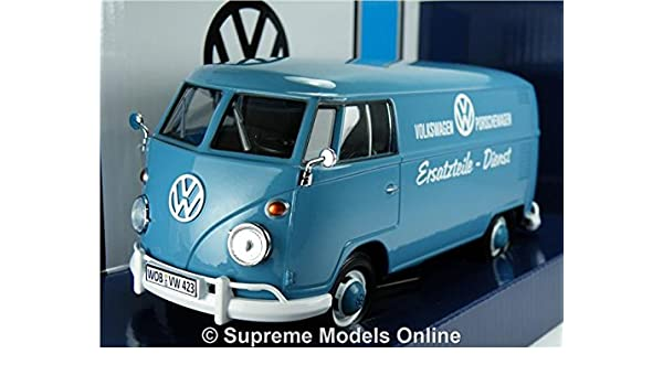 VOLKSWAGEN T1 MODEL VAN 1:24 SCALE PORSCHE PARTS SPLIT