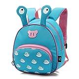 Babyrucksack Kindergartenrucksack Kleinkind Kinder Rucksack Mädchen Jungen Backpack Schultasche Niedliche Spielzeug Reisetasche -Blua