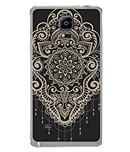 Samsung Galaxy Note Edge, Samsung Galaxy Note Edge N915Fy N915A N915T N915K/N915L/N915S N915G N915D Back Cover Vector Abstract Floral Elements In Indian Mehndi Style Design From FUSON