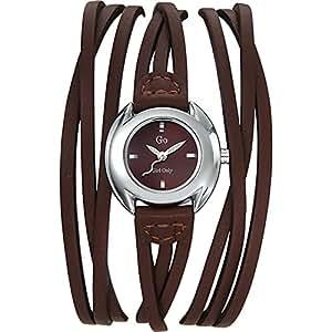 GO Girl Only Damen-Armbanduhr Analog Quarz Leder 696271