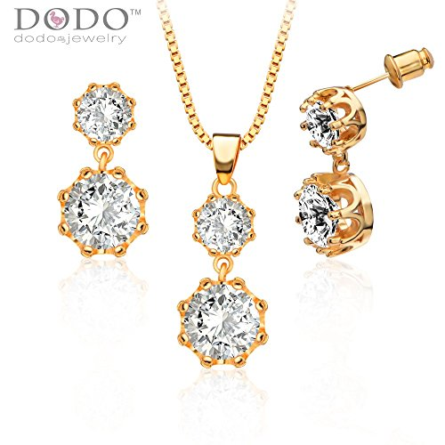 austrian-crystal-pendants-necklaces-earrings-gifts-18k-gold-plated-fashion-cubic-zirconia-jewelry-se