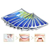 Teeth Whitening Strip 28ps, Breett Professional Teeth Bleaching Gel Strips Kit, Remove Teeth Deep and Surface Stains