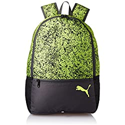 Puma Polyester 15.99 Ltrs Safety Yellow and Speckle Laptop Bag (7443304)